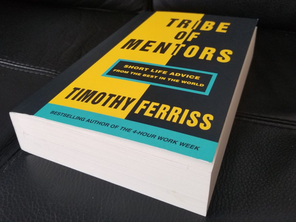 tribe of mentors  Reading: Tribe of Mentors - Herring Bach